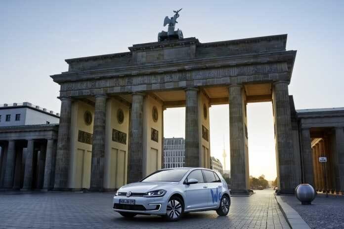 We Share von Volkswagen in Berlin
