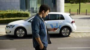 Kennt man: Auto per App buchen
