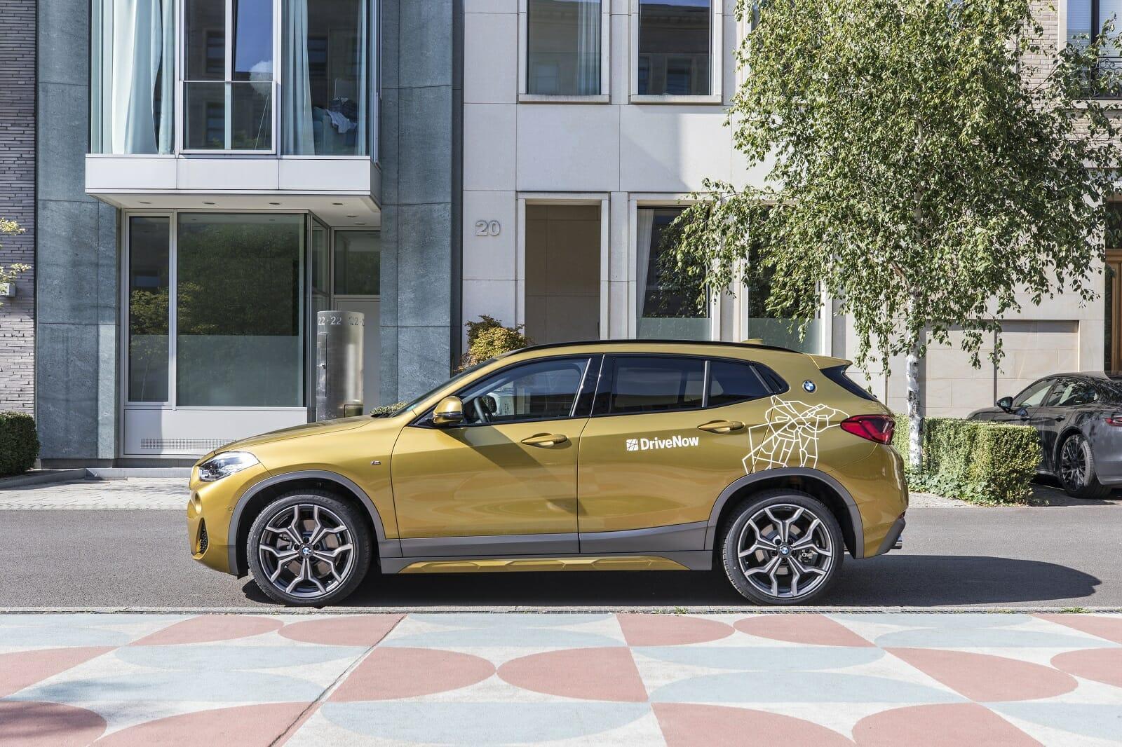 BMW X2 von DriveNow