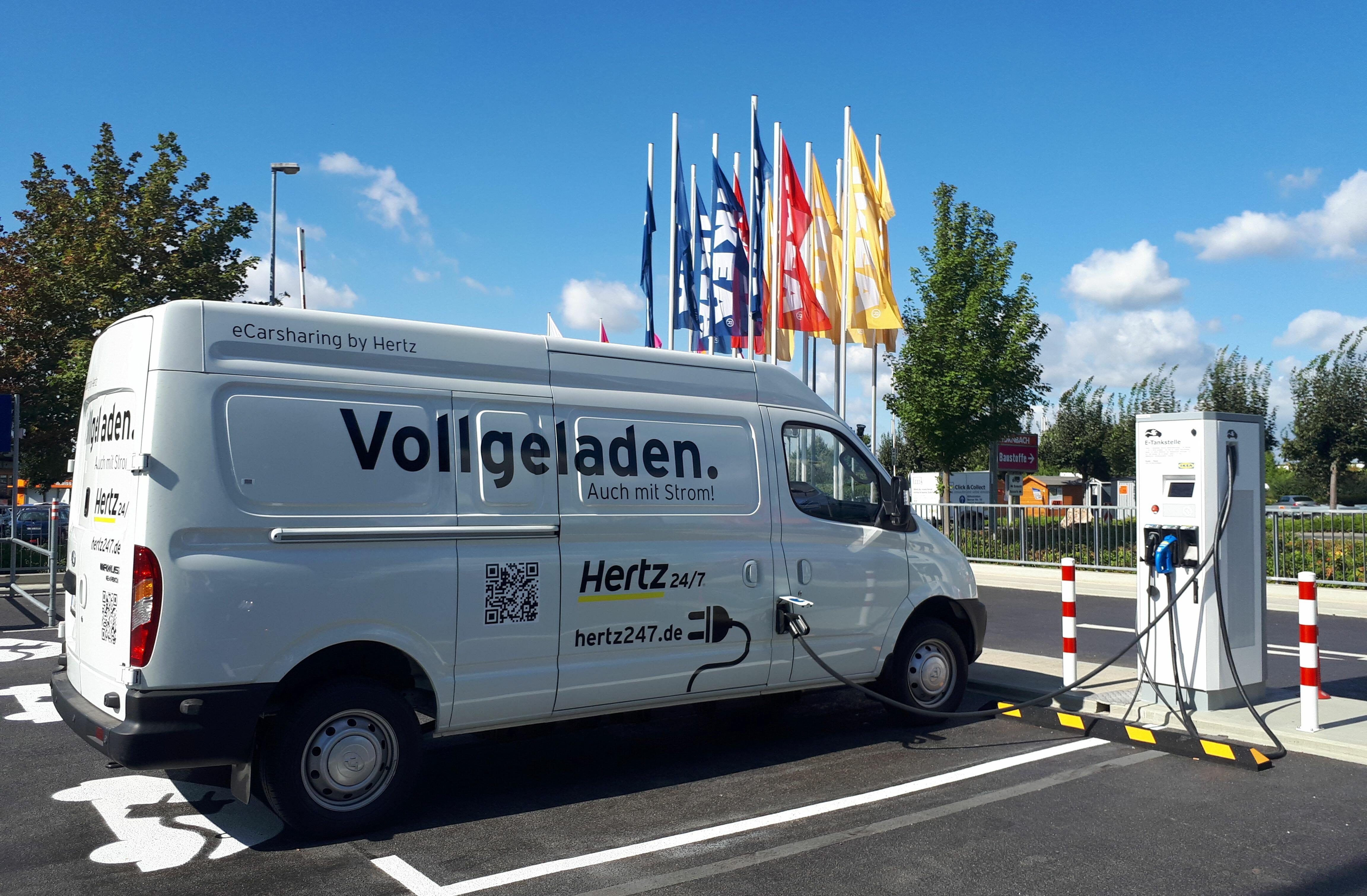 Hertz 24/7 Elektro-Transporter