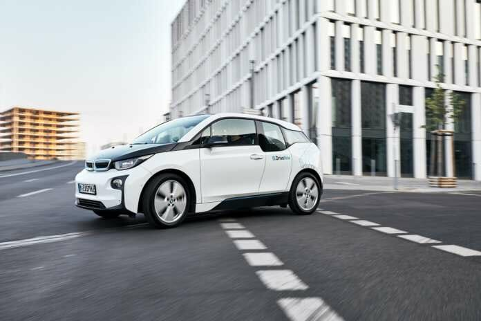 BMW i3 von DriveNow