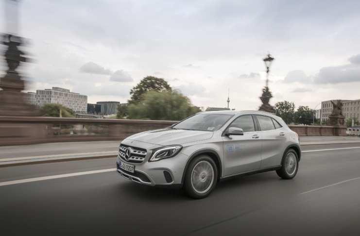 Mercedes Benz von car2go