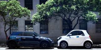 Fahrzeuge von DriveNow und car2go