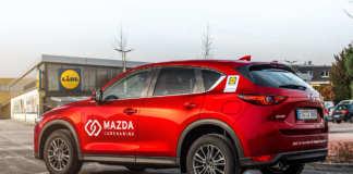 Mazda Carsharing Lidl