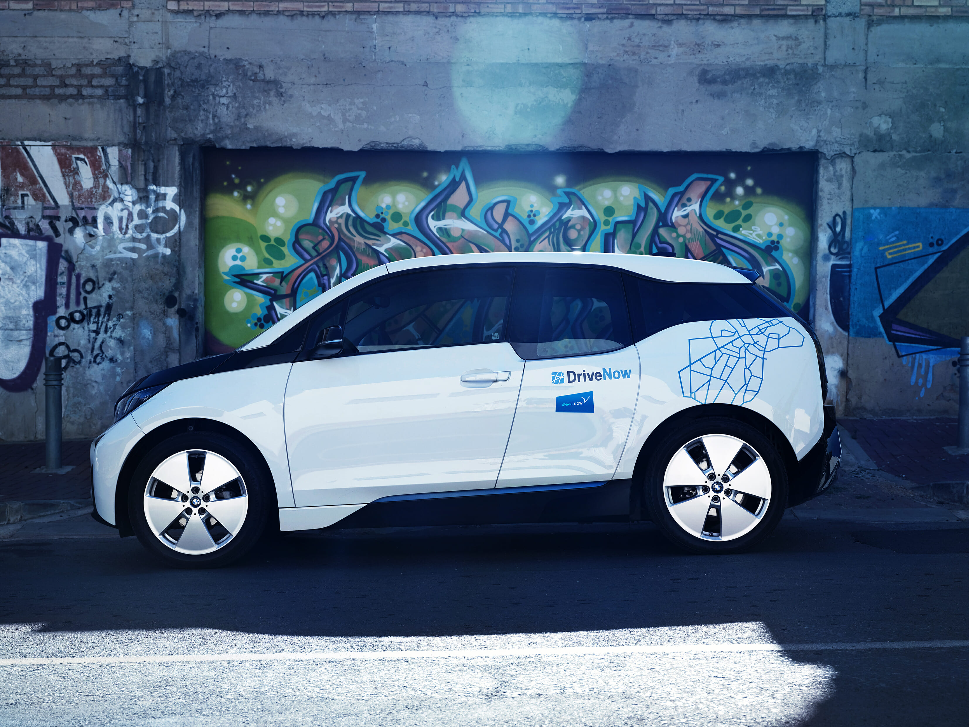 BMW i3 von SHARE NOW