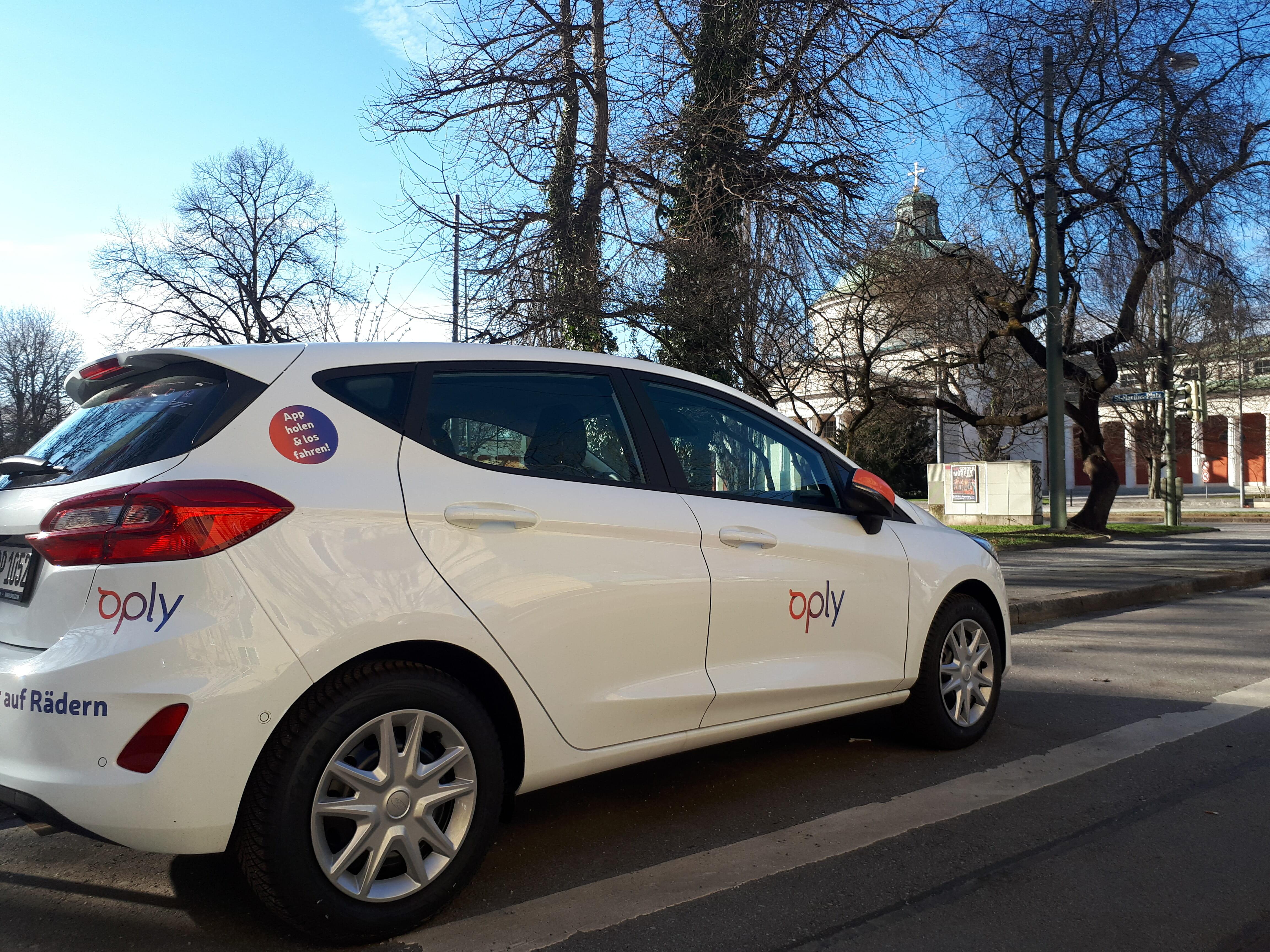 Ford Fiesta von Oply in München