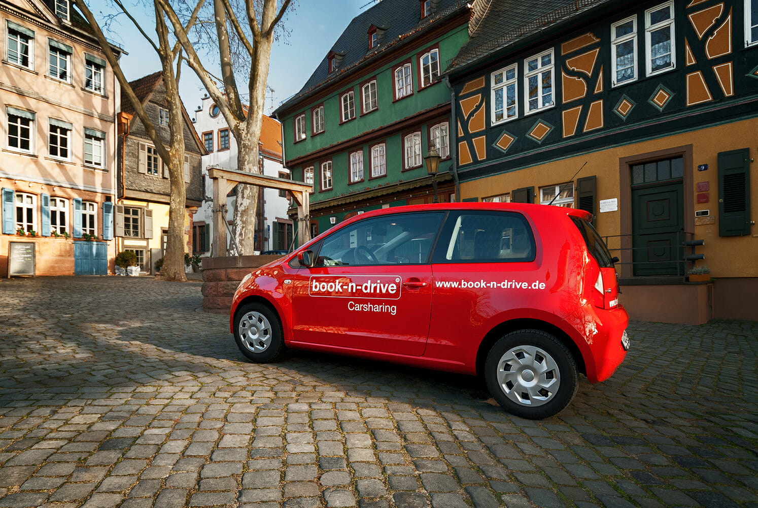 VW Up von book-n-drive