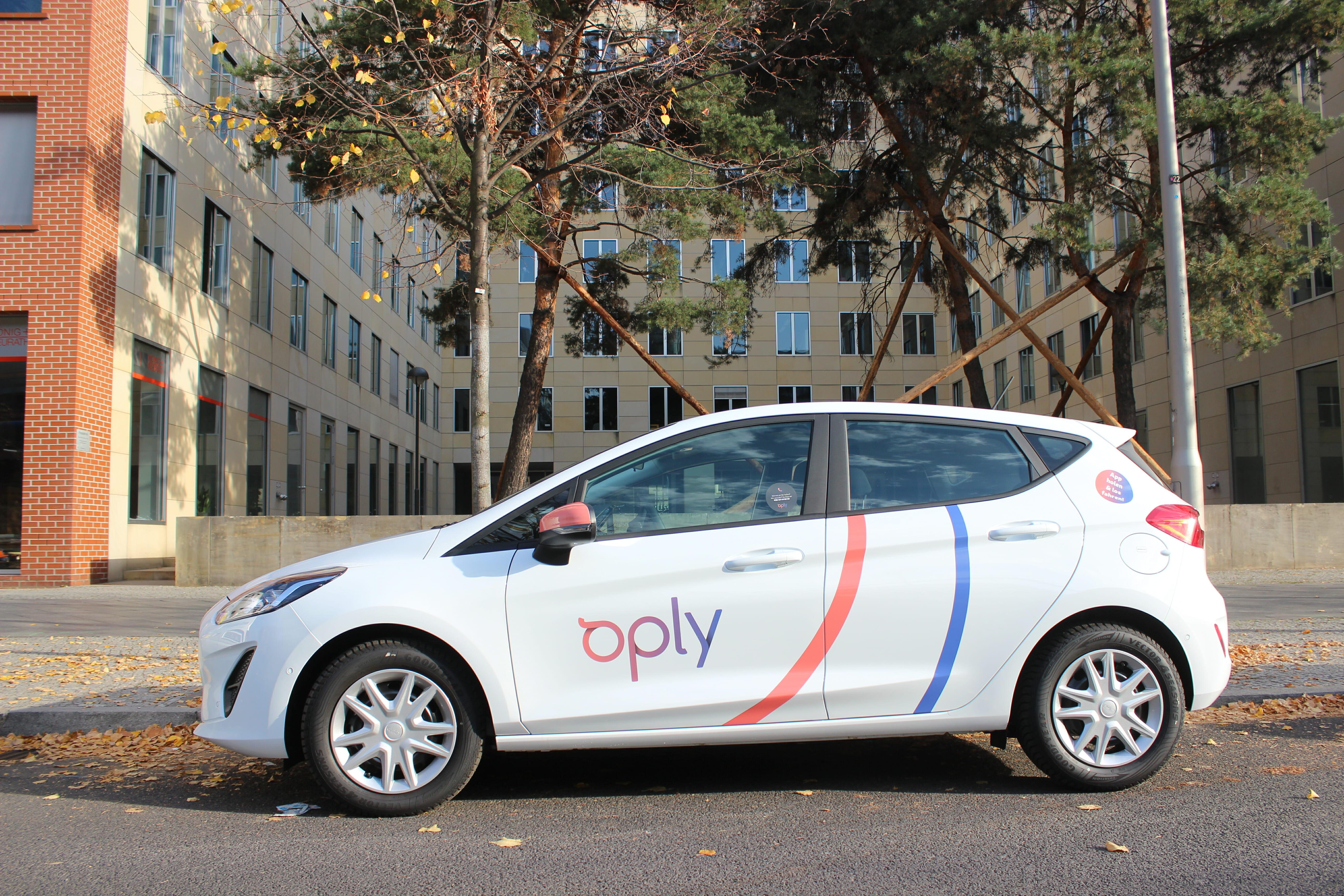 Fahrzeug von Oply Carsharing