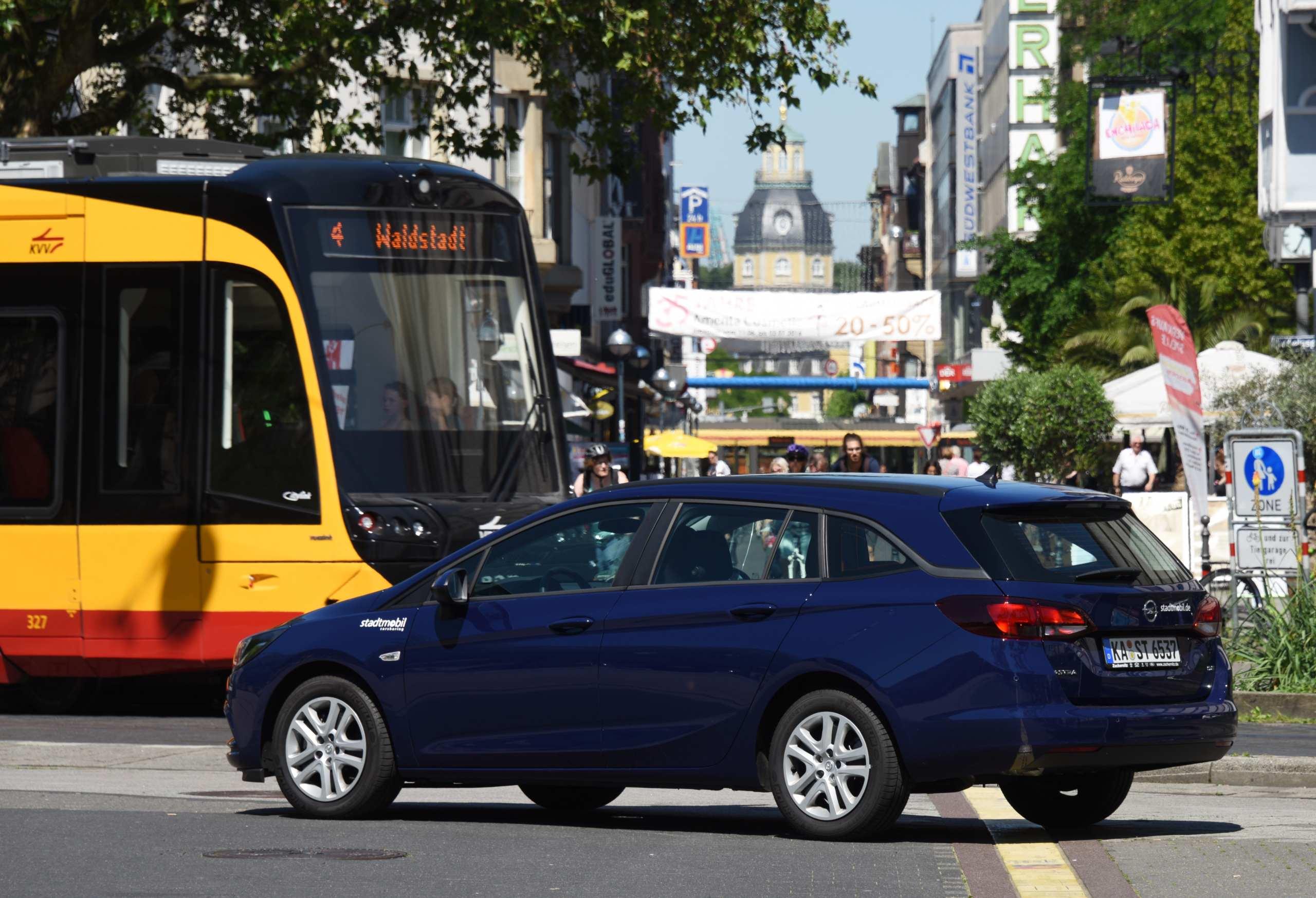 Opel von Stadtmobil in Karlsruhe