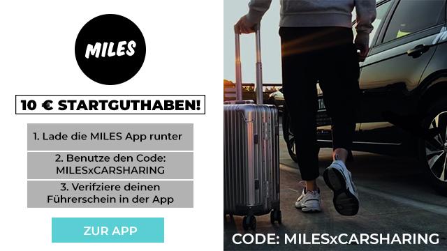 miles promo code